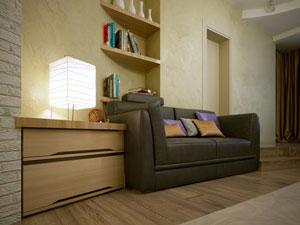 Beleuchtung im Wohnzimmer