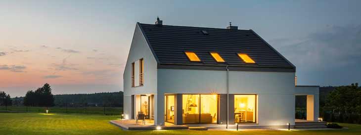Die richtige Beleuchtung fürs Haus
