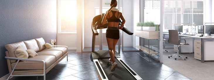 Fitnessraum im eigenen Haus