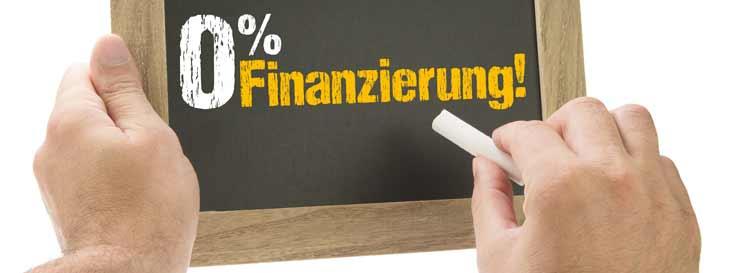 Null-Prozent Finanzierung